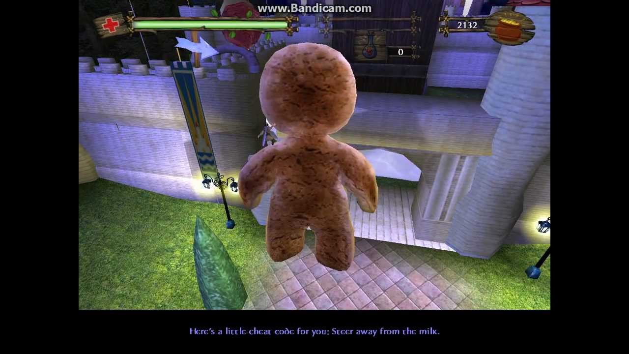 Shrek 2 Video Game Walkthrough Part 16 Escape To The Castle Mission 9 Youtube