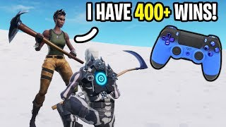 I carried the BEST Girl Controller player on Fortnite... (She's INSANE!)