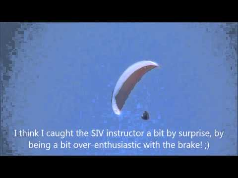 Swing Discus Paraglider: First Flight Review - YouTube
