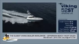 Viking Yachts 52 ST | Jefferson Beach Yacht Sales