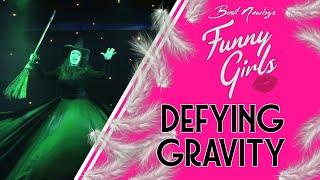 Defying Gravity Betty Legs Diamond & Scarlett Funny Girls Blackpool