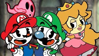 Cuphead Switch - All Ms Chalice Levels (2 Player)