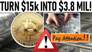TURNED $15k INTO $3.8mil! - CHANGE YOUR LIFE FOREVER W/ THESE PROFITS! - SMALL CAP ALTCOINS BOOM!
