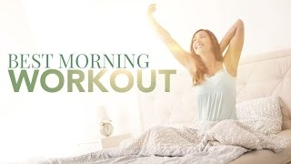 Wake Up Workout (BEST FAST MORNING WORKOUT!!)