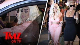 Blac Chyna & Amber Rose Hit The Streets Looking Sexy & Single | TMZ TV