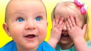 Peek-A-Boo Canción | Canciones Infantiles con Katya y Dima