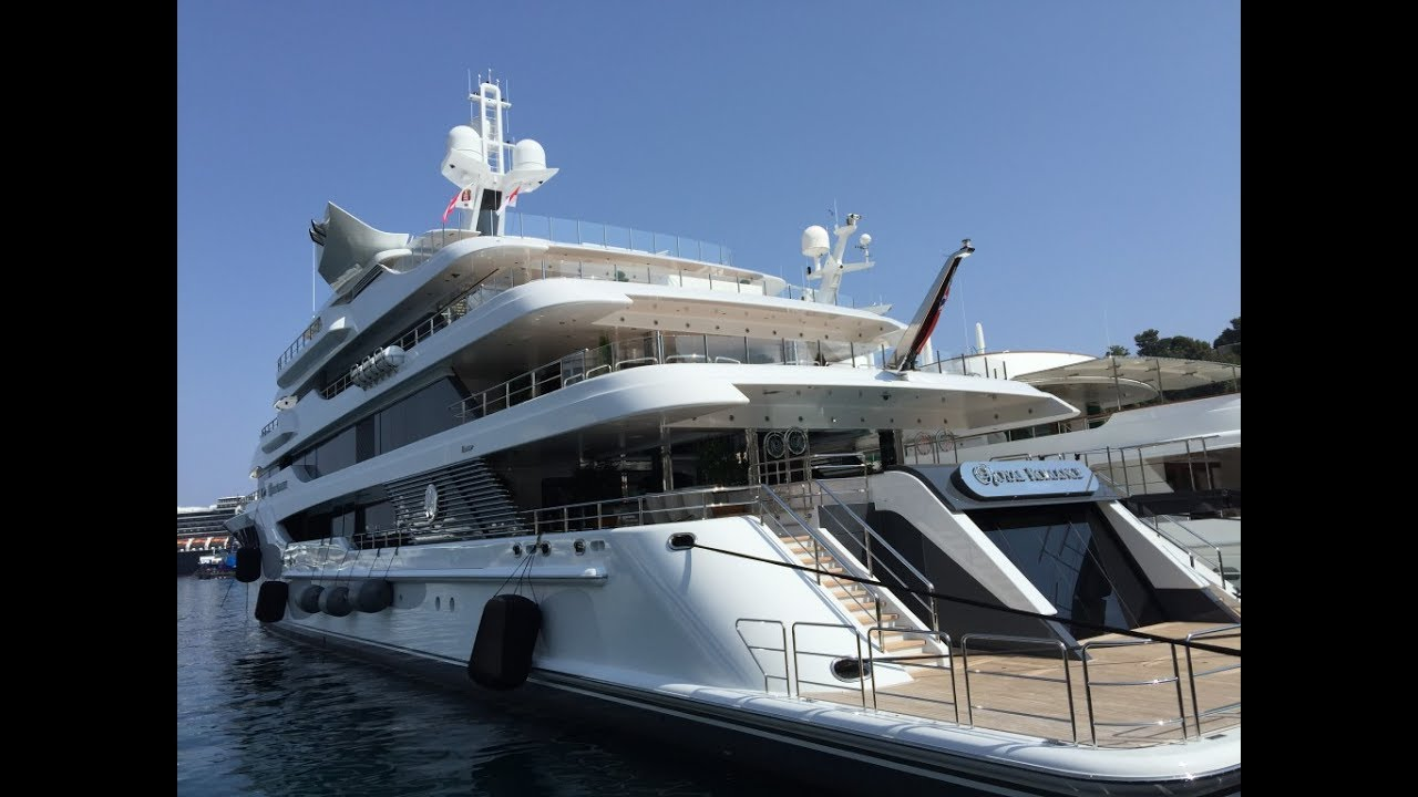 Yacht Royal Romance In Monaco Montecarlo Marina Hercule Youtube