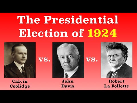The American Presidential Election of 1924