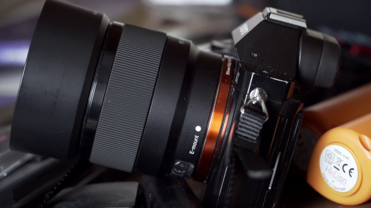 Awesome Budget 50mm E-mount lens Review -Sony 50mm f1.8 Full Frame ...