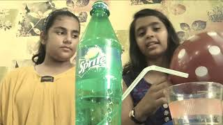 Air Pressure on Water -Physics Science Experiments..