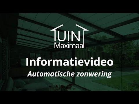 zonwering informatiefilm tuinmaximaal [patent pending] - youtube