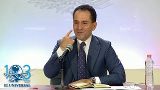 Confiesa Arturo Herrera el porqué de su cara seria