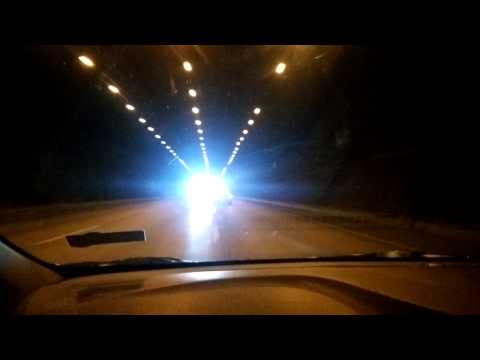 Mumbai Pune Expressway - Lonavla Tunnel view Best Drive Ever | Mumbai India 2015