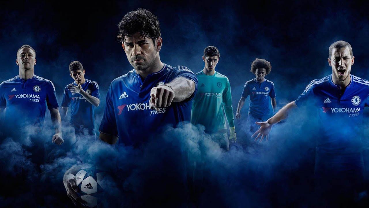 Chelsea 2015-16 adidas Home Kit Launch - YouTube cf8e74300