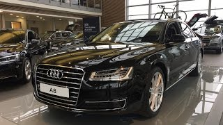 2017 audi a8 l exterior and interior review