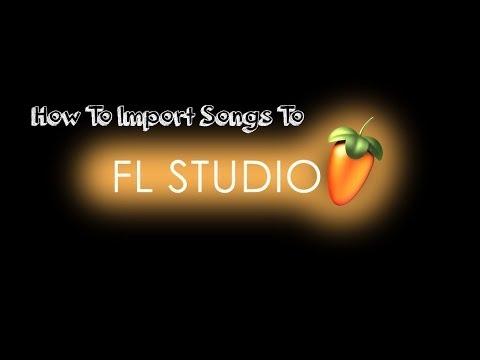 How To Import Audio To FL Studio 11
