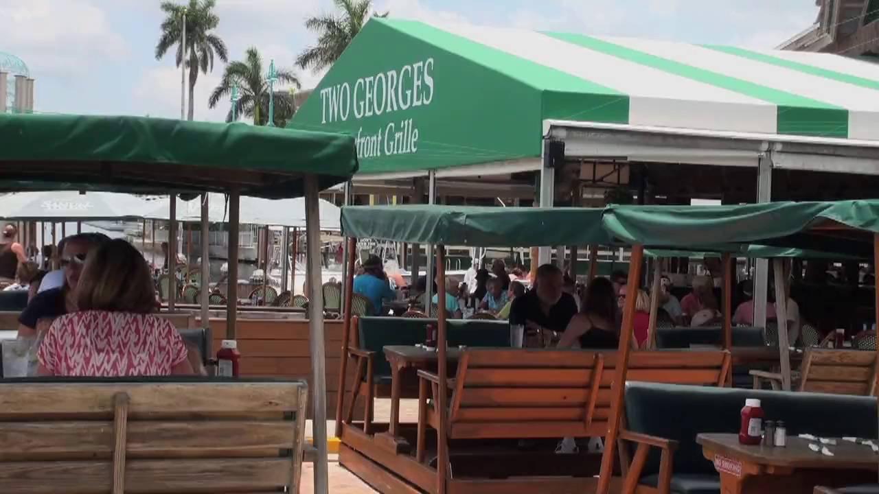 Two Georges Waterfront Restaurant In Boynton Beach Florida