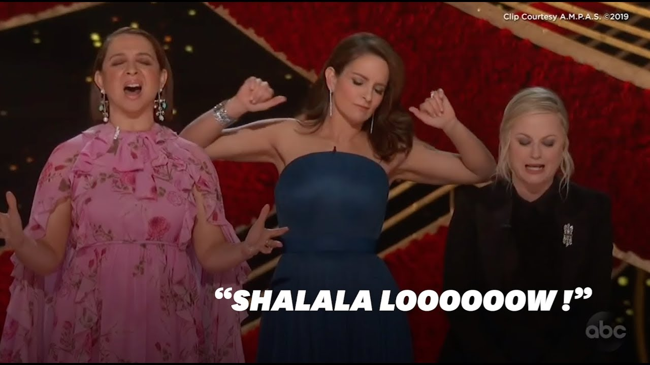 Aux Oscars 2019, Maya Rudolph, Tina Fey et Amy Poehler font le show