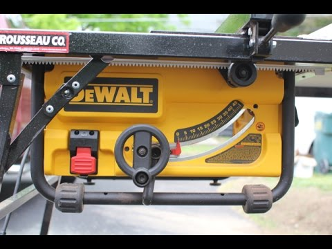 Compact Portable Table Saws A New Breed