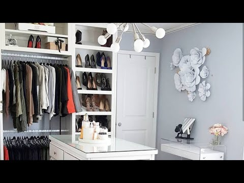 INTERIOR DESIGN| MY DREAM CLOSET | FULL UPDATE + MEASUREMENTS thumbnail