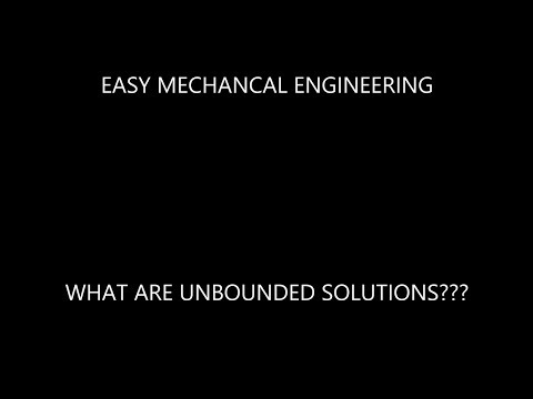What are unbounded solutions in simplex method ???