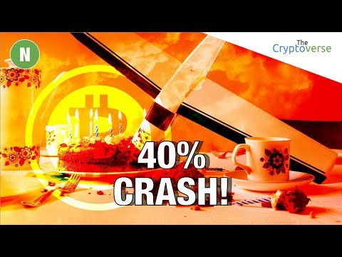 40% Bitcoin Price Crashes 📉 / Schnorr Signatures, The Next Big Upgrade The Bitcoin Core Code