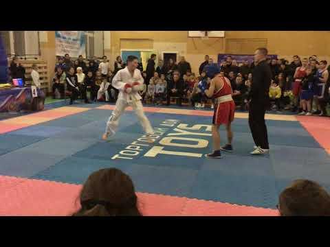 Тхэквондо ITF Vs Бокс 45-50 кг