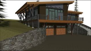 Mountain Modern Architectural Style Home In Mccall, Idaho