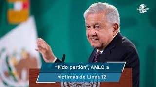 El presidente Andrés Manuel López Obrador afirmó que lamenta mucho que ocurran estas desgracias y consideró que los familiares de las víctimas merecen todo el afecto y cariño