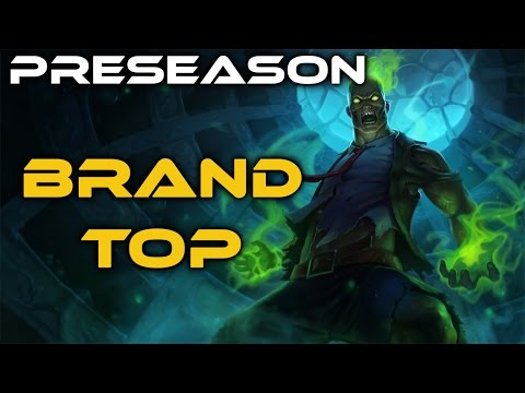 League of Legends - Brand Top - Full Game Commentary