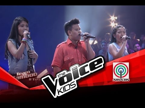 """The Voice Kids Philippines Battles """"The Scientist"""" by Edera, Allina & Borge"""