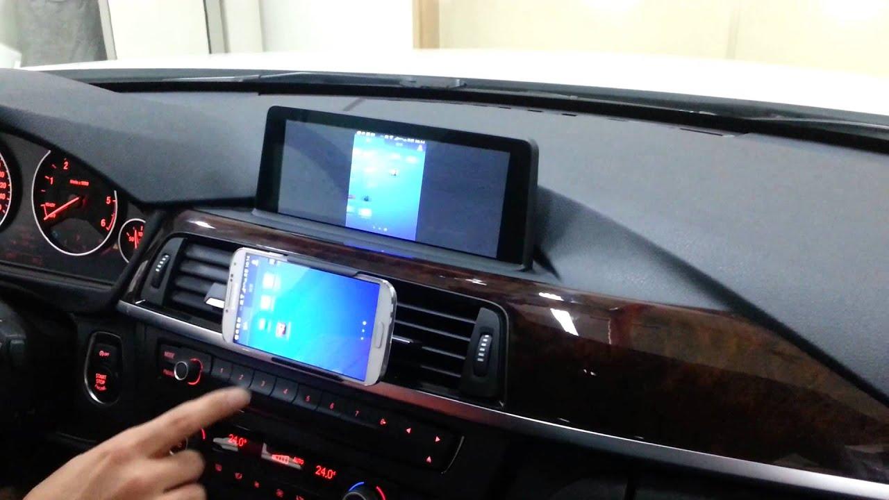 Auxxo Wireless Mirror Link Test To Bmw F30 With Galaxy S4