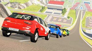 Epic High Speed Jumps #81 – BeamNG Drive   CrashBoomPunk