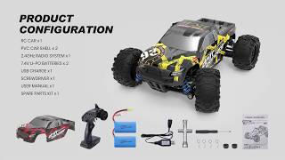DEERC Spare Parts for 9300 High Speed Remote Control Truck