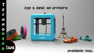 Top 5 3D Printers Available Right Now.(To anyone who hasn't seen it demonstrated, 3-D printing sounds futuristic—like the meals that materialized in the Jetsons' oven at the touch of a keypad., 2015-09-03T08:24:39.000Z)