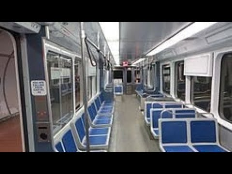 NFTA Metro Rail Ride From University Station To Erie Canal Harbor Station