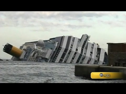 Cruise Ship Sinking in Italy; 6 Bodies Found - YouTube