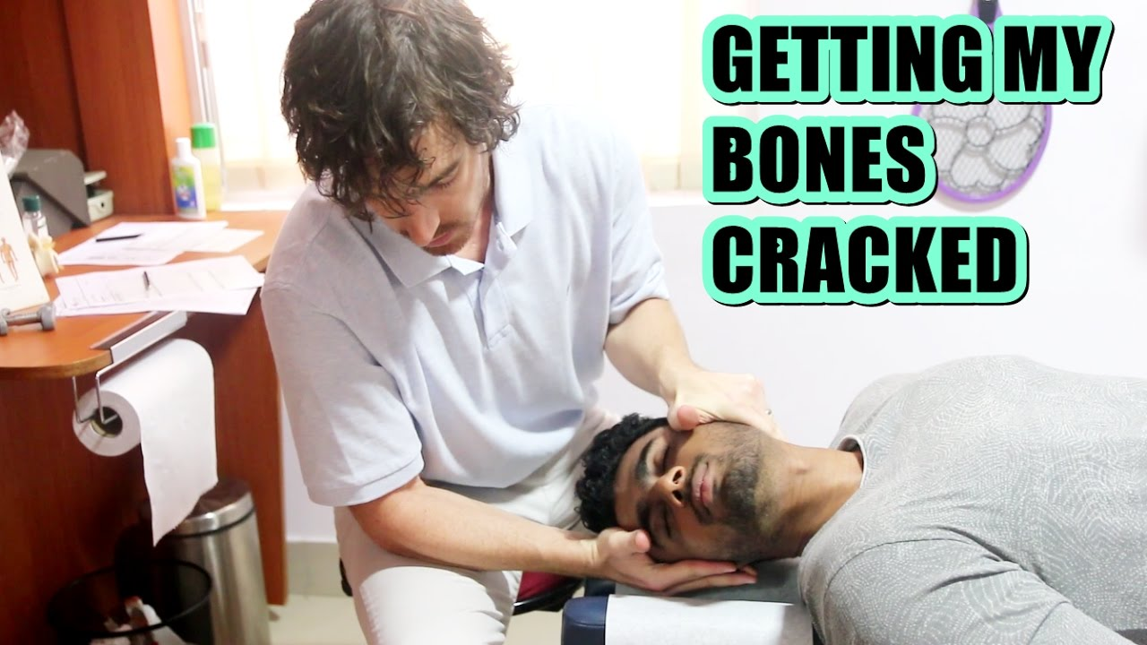 chiropractic adjustment for injuries full video youtube