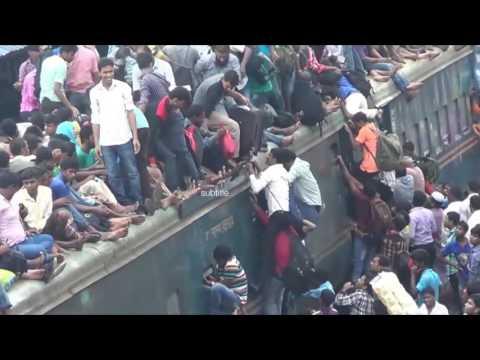 Así es viajar en tren en la India