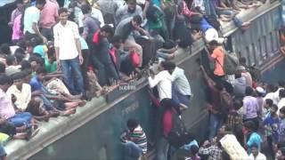 Así es viajar en tren en la Asia de Sur