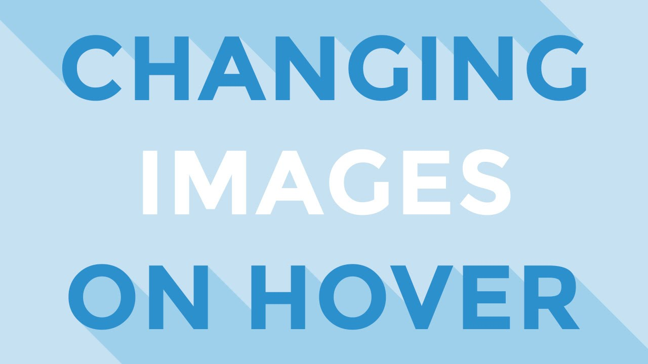 JavaScript - Changing images on hover