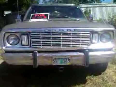 77 Dodge Ramcharger NOT for Sale - YouTube