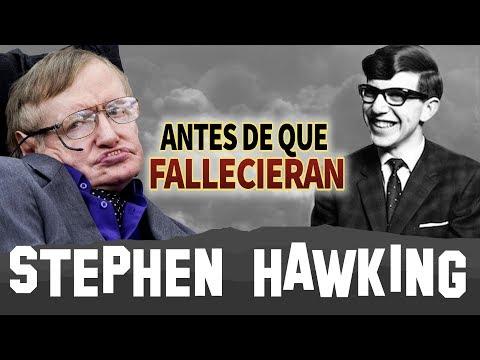 Stephen Hawking Antes De Que Fallecieran Biografia Youtube