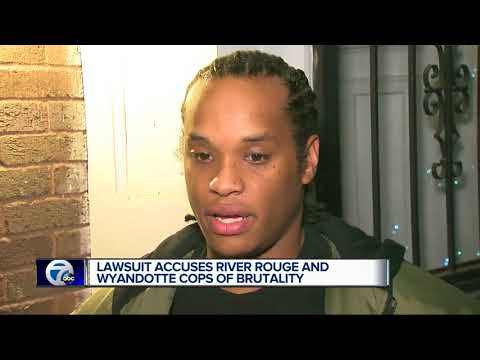 Detroit man suing two Detroit police departments over alleged rough arrest