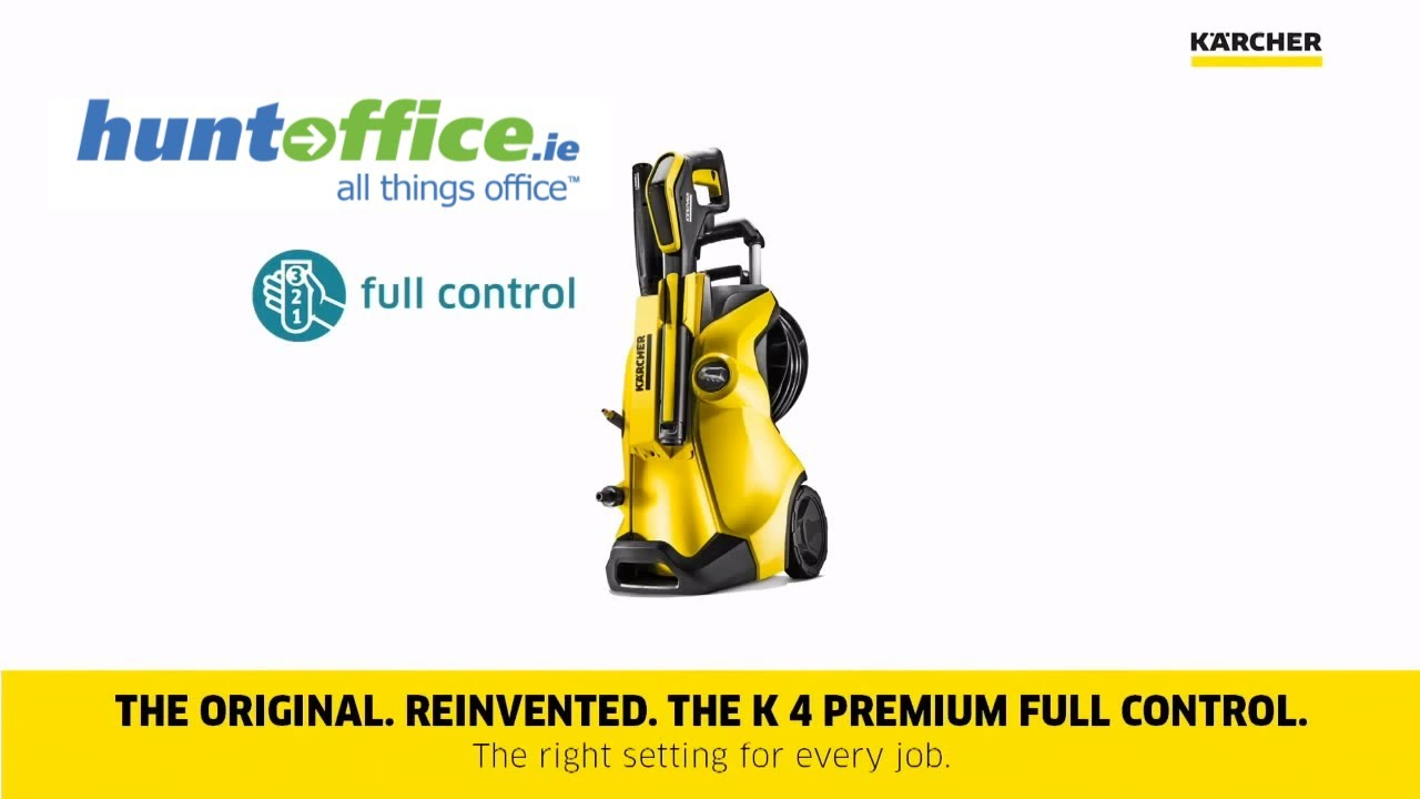 Karcher k4 full control home pressure washer youtube - Karcher k4 premium full control ...