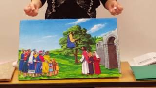 ЗАКХЕЙ. Занятие в Воскресной школе с детьми з-х лет. 22 мая 2016.