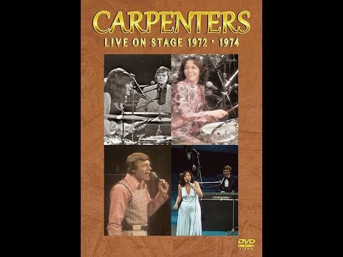 The Carpenters live on stage 1972 - 1974