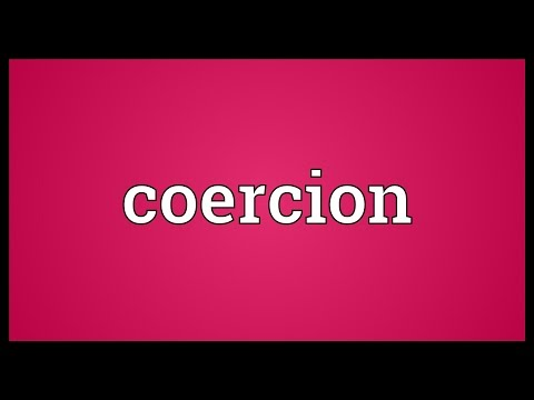 Coercion Meaning