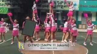 OTWO (SMPN 11 JKT) demo eskul 2016