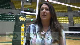 Tech Volleyball vs. Harding Highlights 9/22/15